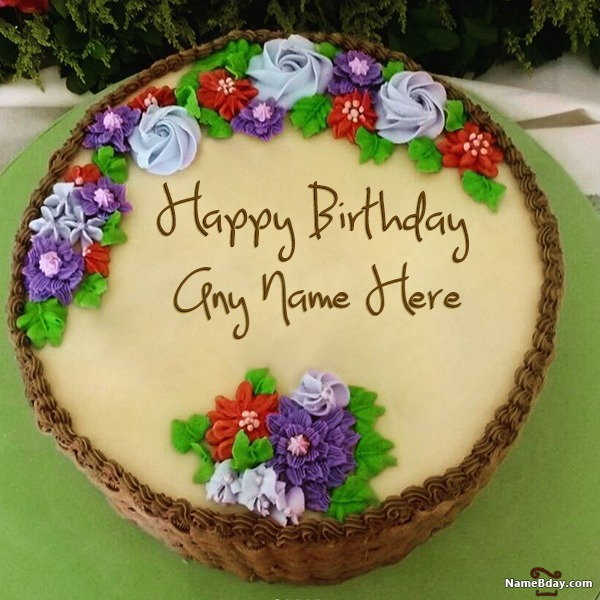 Name Birthday Cake Wishes For Sister
