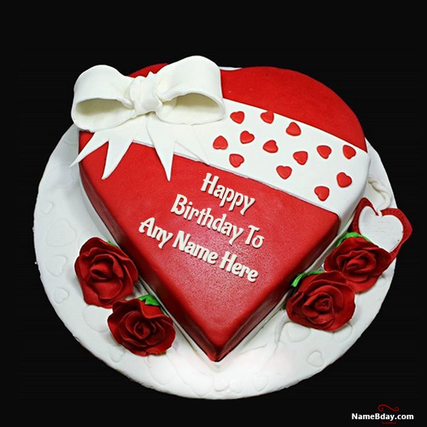 Edit Happy Birthday My Love Cake With Name
