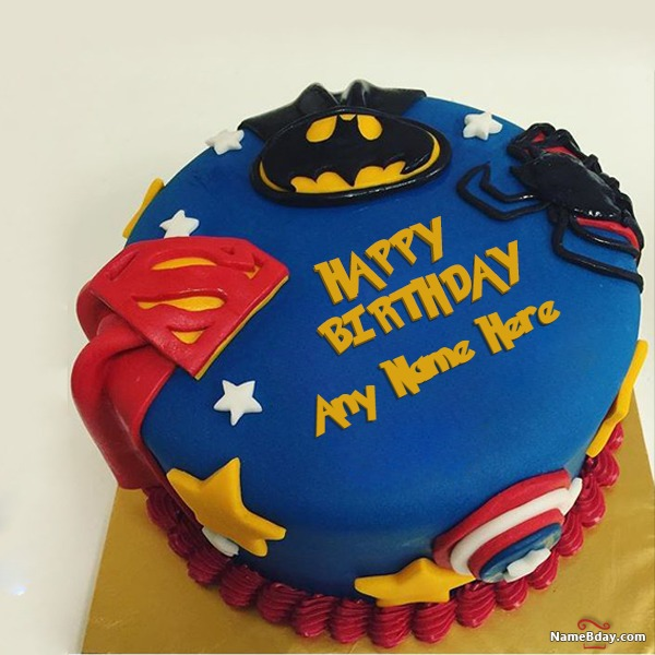 Write Name On Cake For Kids Birthday With Photo