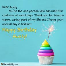 happy birthday aunty