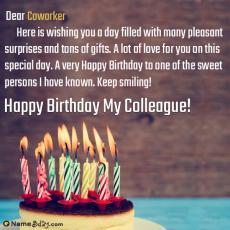 happy birthday coworker