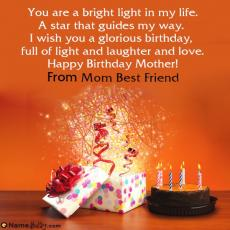 happy birthday mom best friend