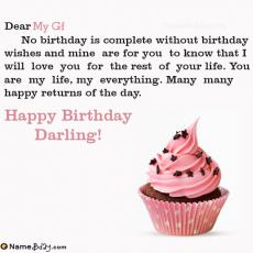 happy birthday my gf