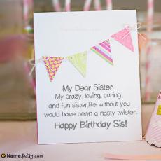 happy birthday my dear sister
