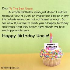 happy birthday to the best uncle