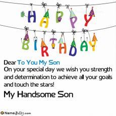 happy birthday to you my son